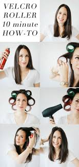 how to put rollersin extra short hair best 25 velcro rollers ideas on pinterest hot curlers velcro