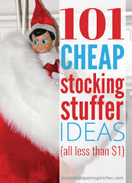 101 Cheap Stocking Stuffer Ideas Passionate Penny Pincher