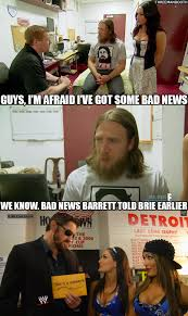 Bad News Barrett Meme - so that happened totaldivas recap 09 14 14 three man booth