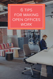 Offices by 6 Tips For Making Open Offices Work Turnstone Furniture