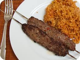 recette de cuisine turque brochettes kefta et boulghour à la turque brigadier des saveurs