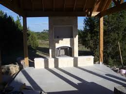 Outdoor Fireplaces Pictures by Prefab Outdoor Fireplace
