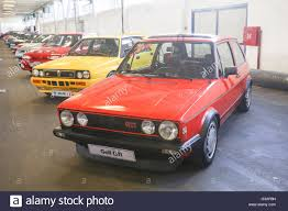 fast volkswagen cars a volkswagen golf gti mark two oldtimer automobile exhibited at