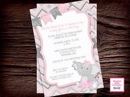 tutu birthday party elephant tutu birthday invitation second