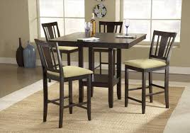 Round Pub Table Set Kitchen Table Counter Height Pub Table Mainstays 5 Piece Counter