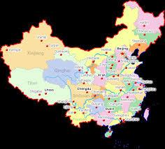 map of china china city maps map of china cities major china cities