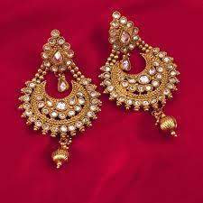 Big Chandelier Earrings Indian Gold Dangle Chandelier Earrings Dangle Ksvhs Jewellery