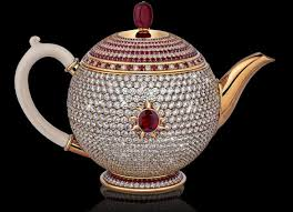 at 3 million the world u0027s most expensive tea pot comes studded in