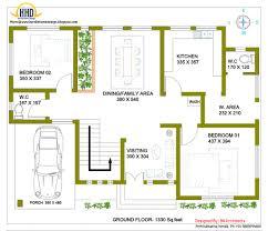kerala floor plans uncategorized kerala home design and floor plan cool for