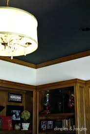 What Color Is Ceiling Paint Dimples And Tangles Office Painting Is Finished
