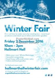 customizable design templates for winter fair postermywall