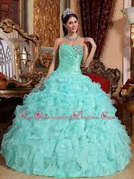dresses for sweet 15 ruffles apple green quinceanera dress organza sweet 15