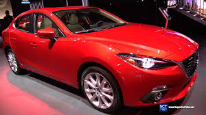 mazda sedan models 2016 mazda 3 sedan grand touring exterior and interior
