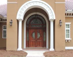 wood and glass exterior doors home southern front stained glass and doors