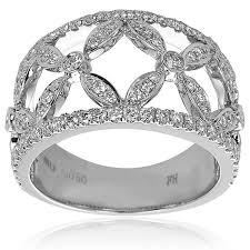 rings diamond design images Design a diamond ring 080ct f i1 diamond ring with flower design jpg