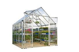 Palram Polycarbonate Greenhouse Amazon Com Palram Snap U0026 Grow 8 U0027 Series Hobby Greenhouse 8 X 8