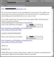 reset password kaspersky security center kaspersky security bulletin spam evolution 2010 securelist