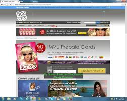 get a prepaid card how to use a imvu prepaid card