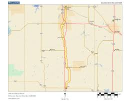 Shawnee Map Oklahoma Highways State Route 18 Shawnee To Asher