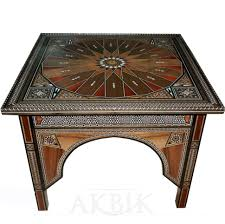 moroccan style console table tags moroccan style coffee table