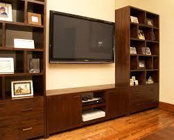 dark teak shelving unit reclaimed solid wood bookcase