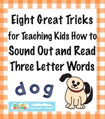 eight great tricks for sounding out three letter words heidi songs