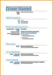 resume template ms word report templates free over 250 microsoft