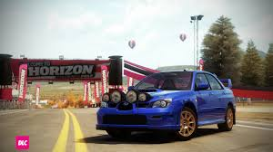 widebody wrx forza horizon cars