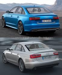 audi a6 2013 vs 2014 vs 2015 audi a6 vs pre facelift model