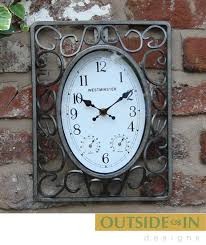 exceptional outdoor garden clocks 1 large outdoor garden wall