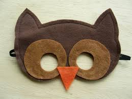 owl mask children s masks for