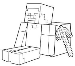 minecraft cake from minecraft coloring page free coloring pages