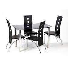 Glass Dining Sets 4 Chairs Awesome 4 Chair Dining Table Dining Room Glass Dining Table Set 4