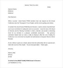 sponsorship letter template u2013 8 free word pdf documents download