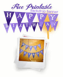 free printable birthday cake banner diy cake bunting and glittered candle jars free printables niner