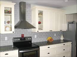 Ceramic Subway Tile Kitchen Backsplash Kitchen Light Grey Subway Tile Kitchen Mounted Range Hood Gray