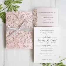 pink wedding invitations six beautiful pink and grey wedding color combos with invitations