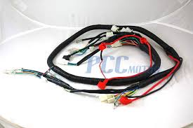 chinese gy6 250cc wire harness wiring assembly scooter moped sunl