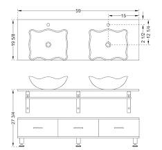 Standard Height Of Bathroom Vanity by Dimensions Of Standard Bathtub U2013 Modafizone Co
