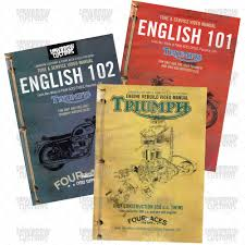 english 102 dvd unit u0026 pre unit triumph motorcycle maintenance dvd