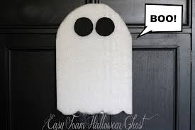 easy foam halloween ghost my crafty spot when life gets creative