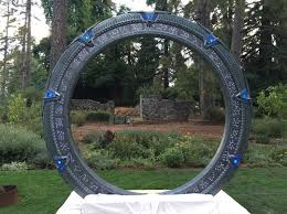 stargate wedding ring indeed it is a handcrafted stargate altar for a sci fi wedding