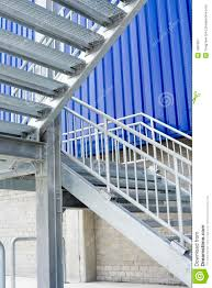 Metal Stairs Design Outside Metal Staircase Outdoor Home Decorations Insight