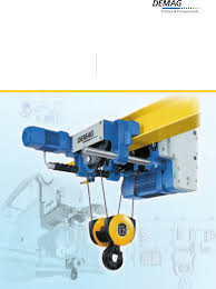 demag cranes documents