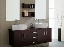 Depth Of Bathroom Vanity Bathroom Vanities Furniture Bathroom Dark Brown Wooden Floating