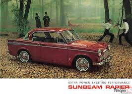 lexus uk brochures 1965 sunbeam rapier brochure