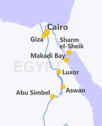nile river on map nile river cruises offers itineraries ship information