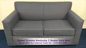 Two Seater Sofa Bed Sweet Dreams Kentucky 2 Seater Sofa Bed