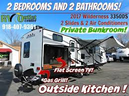 travel trailers with two master bedrooms bedroom rv rental fifth