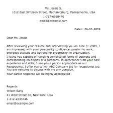 sample resume cover letter u2013 smart letters